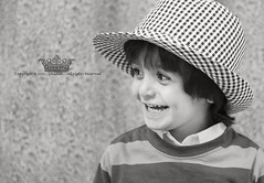 "baby Smile !    (Queen333"" ) Tags:                      canon ghada queen 333 faisal black smile boy blackwhitephotos"