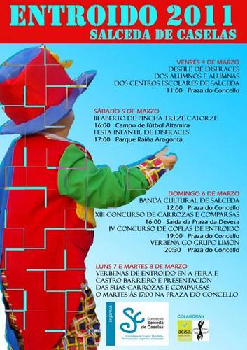 Salceda de Caselas 2011 - Entroido - cartel