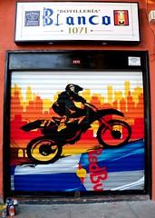 Work (COLOR IMPOSIBLE CREW) Tags: chile work graffiti ciudad moto pedido redbull lata ruedas pega motociclista zade quilpue 2011 fros