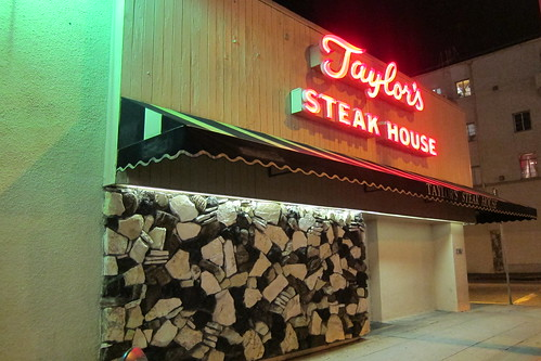Taylor's: Exterior + Sign