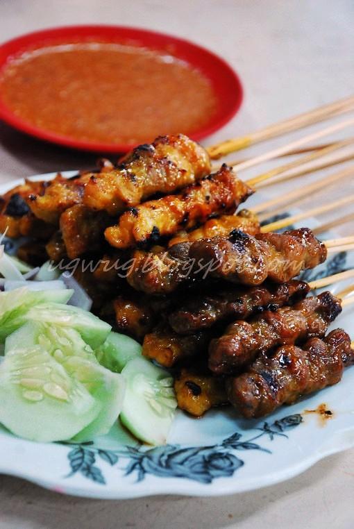 Pork & Mutton Satay