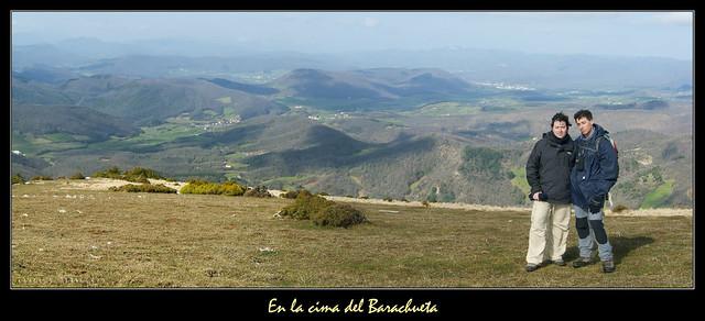 En la cima del Barachueta (1148 m.)