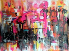 PLAY (Teresa Fortsch) Tags: abstract outsider mixedmedia expressionism naive teresafortsch