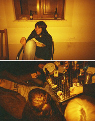 revelho @ odeceixe (Alma Vogler) Tags: reveillon film 35mm diptych barbara analogue odeceixe cheap disposable descartavel saynburys