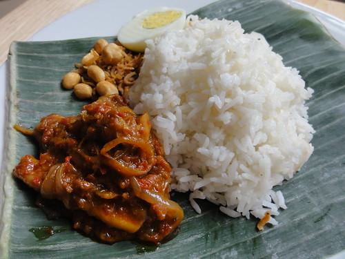 Malaysian Nasi Lemak (Bungkus)