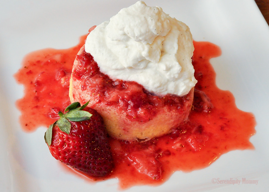 Strawberry Shortcake w/ Homemade Vanilla Whipped Cream