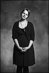 (SummachPhoto) Tags: portrait blackandwhite woman studio nikon dress manitoba d300 strobist otterburne