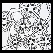 bloomingbutter (Mafe.Mavromati) Tags: pattern collection tangle padrão zentangle