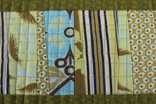 Scrap Mini Quilt Detail 2