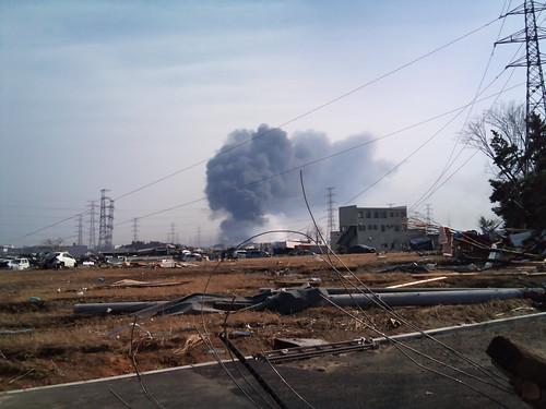 2011東北地方太平洋地震@仙台新港付近