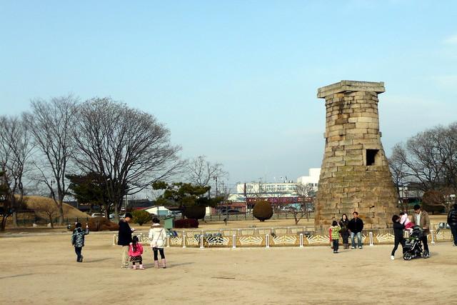 慶州 瞻星台 Chomsongdae, Gyeongju
