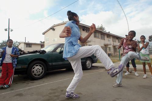 Photo by Khaliq Farthing, age 15, Figueroa Corridor, South LA (2009)