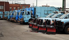 City of Chicago Department of Fleet (Cragin Spring) Tags: city blue urban chicago ford yard illinois garbage midwest il northside trucks fleet fords pickuptrucks pickups plows snowplows chicagoillinois fordtrucks windycity garbagetrucks recycyling fordpickups