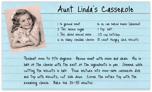 Aunt Linda's casserole