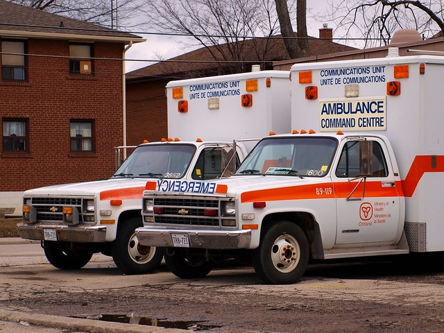toronto ontario canada chevrolet 1987 ministry 1988 pickup ambulance chevy 1984 etobicoke 88 1986 ck silverado 1985 85 86 1500 gmc communications 87 2500 unit 84 3500