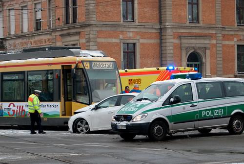 Accidente tranvía