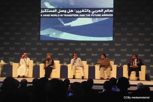 panel de jóvenes activistas