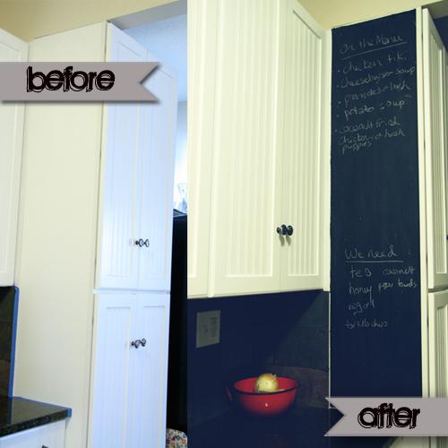 B&A Kitchen Cabinet Chalkboard