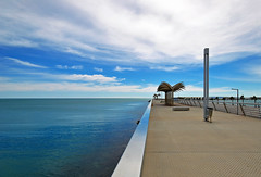 Blue (Ricardodaforce) Tags: sea sky espaa mar spain nikon alicante cielo d3000 gettyiberiasummer