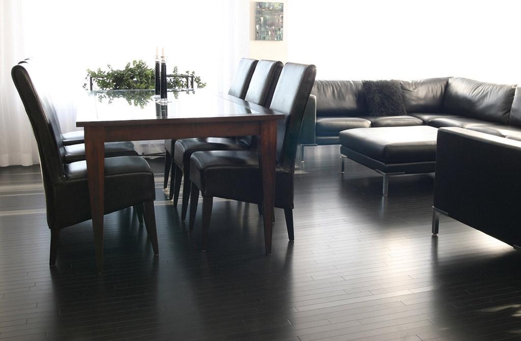 Punalu'u solid ash hardwood floor by PG Model