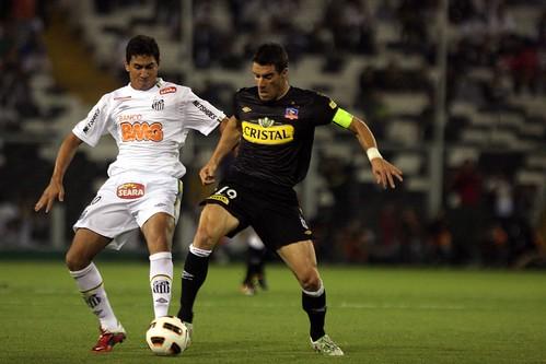 Paulo Henrique Ganso - Colo Colo-CHI 3 X 2 Santos FC - Copa Libertadores da América