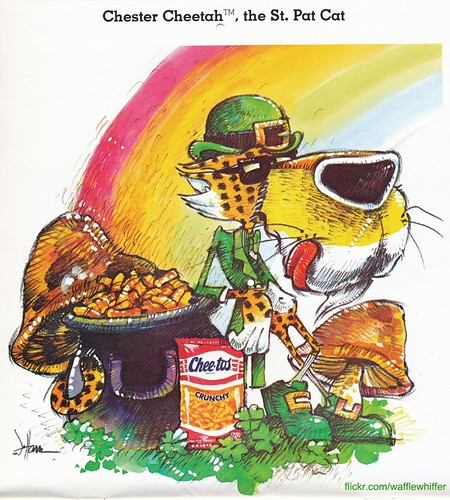 Cheetos St. Pat Cat - 1987