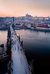 The Czech Republic - Prague: Medieval Magic (John & Tina Reid) Tags: prague theczechrepublic travelphotography johnreid europeanarchitecture jonreid czecharchitecture thegoldencity thecharlesbridge tinareid nomadicvisioncom wwwnomadicvisioncom saintcharlessquare