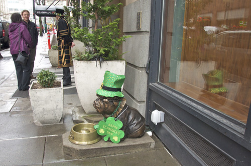 Heathman Hotel ~ St. Patrick's Day
