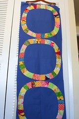 Stripes (threekitchenfairies) Tags: circles quilting singlegirlquilt