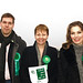 Jason & Ania Kitcat with Caroline Lucas