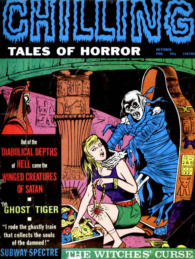 Chilling Tales of Horror - Volume 2 #5, October 1971,  (Stanley Publications)