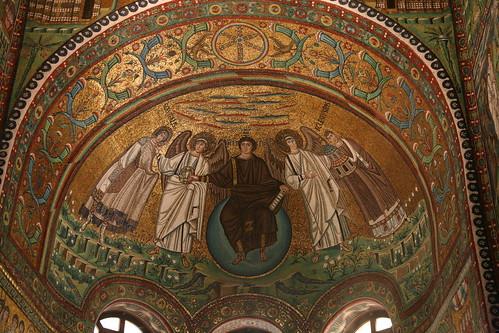 Basilica San Vitale mosaic