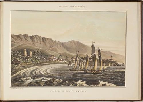 Vista de la bahia de Acapulco