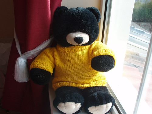 Knitting Pattern Bear Jumper : Knit, Inc: Motivation