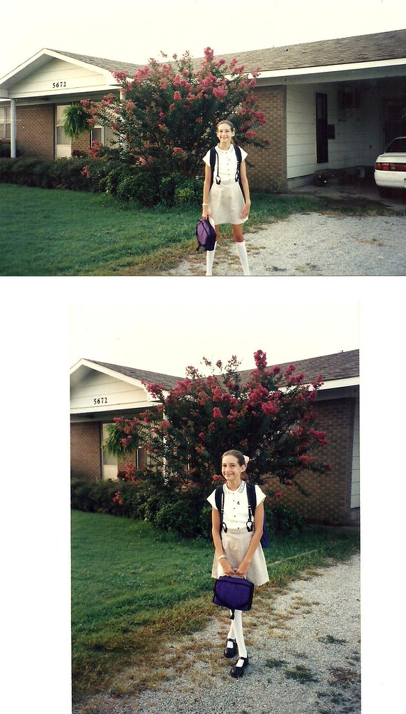 First Day - Sixth Grade