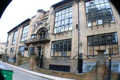 Mackintosh designed Glasgow School of Art