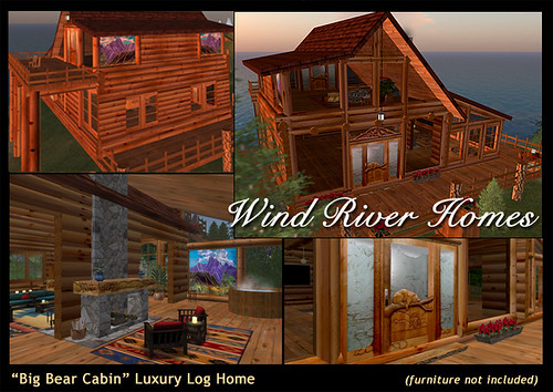 """Big Bear Cabin"" Luxury Log Home by Teal Freenote"