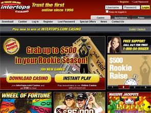 Intertops Casino Home