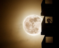 Supermoon (noamgalai) Tags: nyc sky moon newyork building silhouette noamgalai sitelandscapes supermoon sitemisc