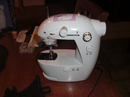 My Itsy Bitsy Sewing Machine