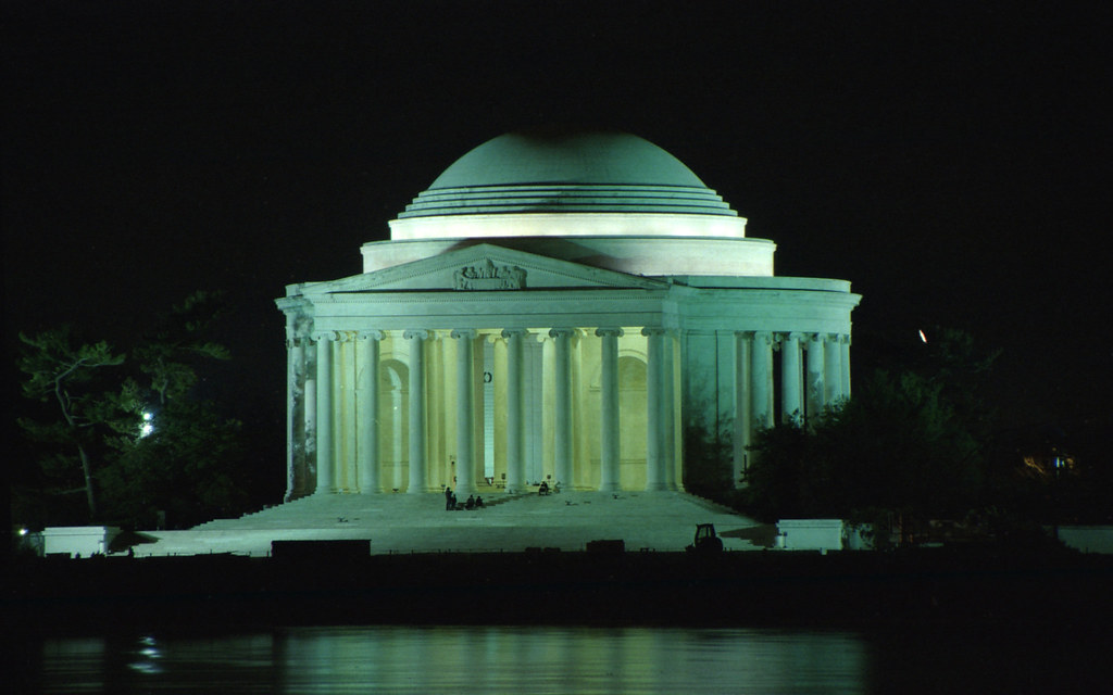 Jefferson Memorial, DC: night