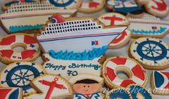 Carnival cruise cookies - 6 (m5cake) Tags: captain cruiseship anchor lifepreservers shipwheel carnivalcruisecookies carnivalcruiselogo