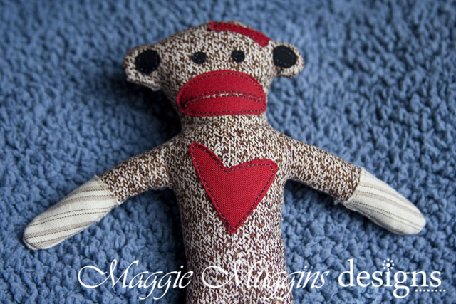 Sock Monkey Stuffie