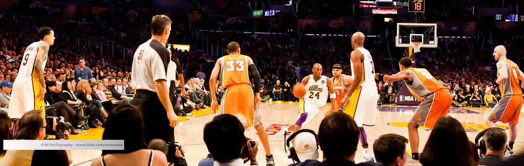 Lakers vs. Suns 185