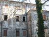 facciata del castello di Vipolze