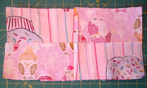 Altered Four Square Quilt Block Tutorial: Sewing the Framing Pair