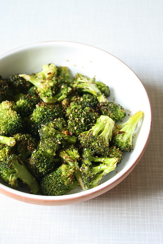 Roasted Broccoli.