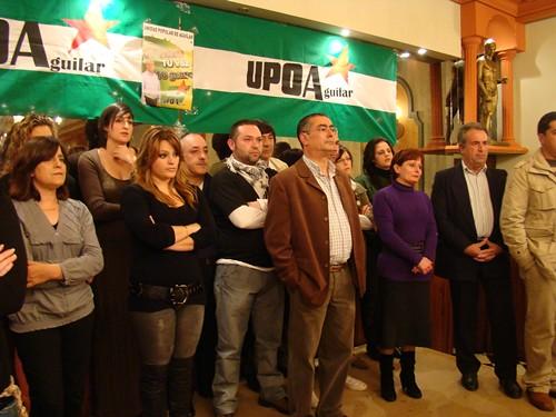 Presentada la candidatura de UPOA en Aguilar de la Frontera 5555992360_1de9448a70