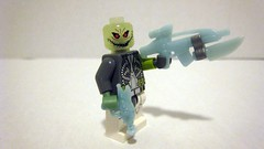 Undead Space Alien (Updated) (The Brick Guy) Tags: lego zombie space alien scifi minifigure