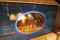 Norwegian Epic - Western Caribbean Cruise (oxfordblues84) Tags: cruise blue mirror ship staircase epic ncl norwegianepic aftstarboardstaircase
